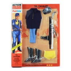 Blister tenue Tunique bleue cavalerie réédition pour Action Joe