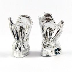 Paire de gants pour la tenue  CONQUETE DE L'ESPACE Action Joe réédition