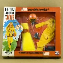 Blister Tenue en boite Jane En Plein Ciel Action Joe vintage neuf parachutiste