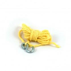 Corde et crochet de grue pour chenillette action joe