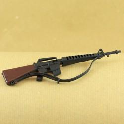 Fusil Mitrailleur M16 pour tenue SOLDAT AMERICAIN Action Joe