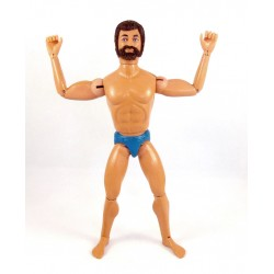 Figurine Action Joe barbu brun