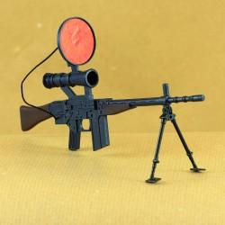 Fusil infra-rouge avec bipode Action Joe vintage