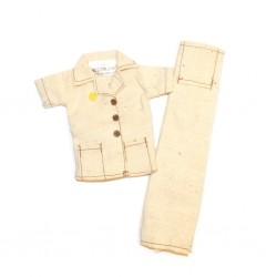Pantalon et veste pour Tenue Jane DANS LA JUNGLE Action Joe vintage neuf