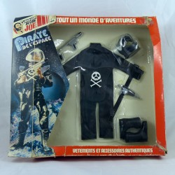 Blister tenue Pirate de l'espace Action Joe