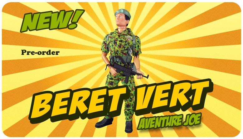 Aventure Joe French Green Beret!