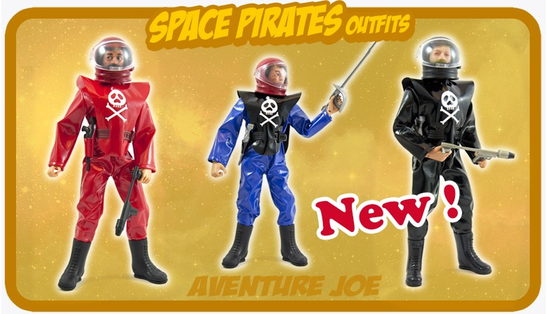 New : Space Pirates outfits !