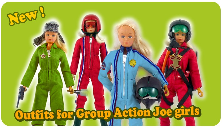 Outfits for Action Joe girls