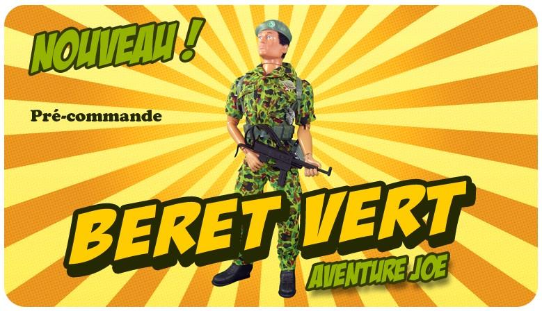 Nouveauté : le Beret Vert Aventure Joe !