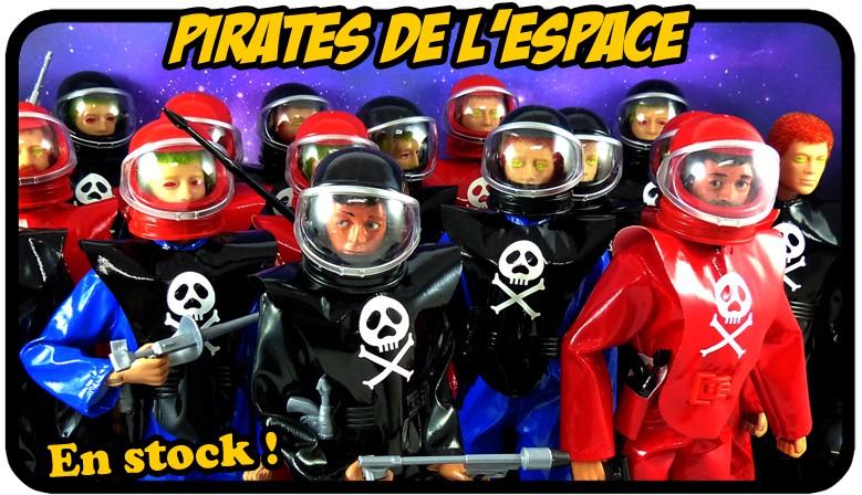 Tenues Pirates de l'espace !